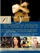 Festival Euroclassic Pays de Bitche 57230 Bitche du 02-09-2017 à 18:00 au 28-10-2017 à 22:00