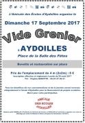 Vide-Grenier à Aydoilles 88600 Aydoilles du 17-09-2017 à 07:00 au 17-09-2017 à 17:00