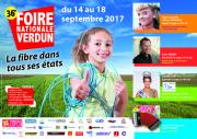 Foire de Verdun à Verdun Expo Meuse   55100 Verdun du 14-09-2017 à 14:00 au 18-09-2017 à 17:00