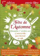 Fête de l'Automne au Parc Thermal à Contrexéville 88140 Contrexéville du 01-10-2017 à 09:00 au 01-10-2017 à 19:00