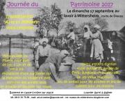 Visite Guidée du Patrimoine à Mittersheim 57930 Mittersheim du 17-09-2017 à 10:00 au 17-09-2017 à 18:00