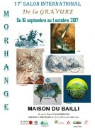 Salon International de la Gravure Morhange 57645 Morhange du 16-09-2017 à 14:00 au 01-10-2017 à 18:00