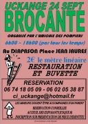 Brocante et Vide-Grenier des Pompiers à Uckange 57270 Uckange du 24-09-2017 à 08:00 au 24-09-2017 à 18:00