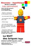 Nouveau : Légothèque à Nancy, Nuits des Briques 54000 Nancy du 06-09-2017 à 14:00 au 30-06-2018 à 16:00