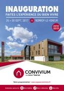 Inauguration Convivium Bien-Vivre à Norroy-Le-Veneur 57140 Norroy-le-Veneur du 26-09-2017 à 09:00 au 30-09-2017 à 19:00