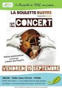 Concert à Foug 54570 Foug du 15-09-2017 à 20:30 au 15-09-2017 à 22:30