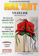 Salon de Peinture Hal'Art à Vézelise 54330 Vézelise du 16-09-2017 à 14:00 au 24-09-2017 à 18:00