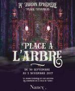 Jardin Ephémère Nancy Place Stanislas 54000 Nancy du 30-09-2017 à 08:00 au 05-11-2017 à 20:00