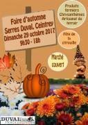Foire d'automne aux Serres Duval à Ceintrey  54134 Ceintrey du 29-10-2017 à 09:30 au 29-10-2017 à 18:00