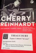 Concert Cherry Rheinhardt NJP à Thiaucourt 54470 Thiaucourt-Regniéville du 14-10-2017 à 20:30 au 14-10-2017 à 22:30