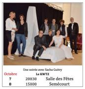 Un Instant avec Sacha Guitry à Semécourt 57210 Semécourt du 07-10-2017 à 20:30 au 08-10-2017 à 15:00
