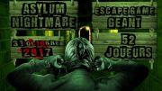 Asylum Nightmare : Escape Game Géant Blénod-lès-Toul 54113 Blénod-lès-Toul du 31-10-2017 à 18:30 au 31-10-2017 à 21:00