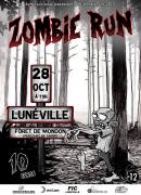 Zombie Run à Lunéville 54300 Lunéville du 28-10-2017 à 19:00 au 28-10-2017 à 21:00