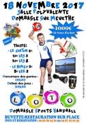Loto Dombasle Sports Handball 54110 Dombasle-sur-Meurthe du 18-11-2017 à 19:30 au 18-11-2017 à 23:59