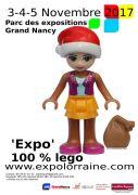 Expo 100% Lego à Nancy 54000 Nancy du 03-11-2017 à 18:00 au 05-11-2017 à 18:00
