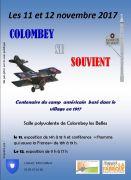 Centenaire à Colombey-les-Belles 54170 Colombey-les-Belles du 11-11-2017 à 14:00 au 12-11-2017 à 17:00