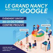 Google à Nancy Formation au Numérique 54000 Nancy du 20-10-2017 à 09:00 au 21-10-2017 à 18:00