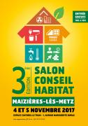 Salon Conseil Habitat de Maizières-lès-Metz 57280 Maizières-lès-Metz du 04-11-2017 à 10:00 au 05-11-2017 à 18:00