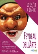 Feydeau Dell'Arte à Frouard 54390 Frouard du 05-11-2017 à 16:00 au 05-11-2017 à 17:15