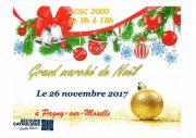 Marché de Noël à Pagny-sur-Moselle  54530 Pagny-sur-Moselle du 26-11-2017 à 09:00 au 26-11-2017 à 18:00