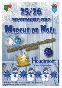 Marché de Noël à Houdemont 54180 Houdemont du 25-11-2017 à 14:00 au 26-11-2017 à 18:00