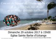 Concert Caritatif Harmonie Ste Cécile à Uckange  57270 Uckange du 29-10-2017 à 15:00 au 29-10-2017 à 17:00