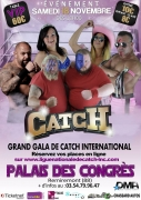 Gala de Catch International à Remiremont 88200 Remiremont du 18-11-2017 à 10:00 au 18-11-2017 à 23:30