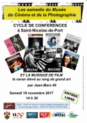 Conférence Michel Magne à Saint-Nicolas-de-Port 54210 Saint-Nicolas-de-Port du 18-11-2017 à 14:30 au 18-11-2017 à 17:00