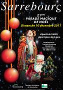Parade Magique de Sarrebourg  57400 Sarrebourg du 10-12-2017 à 16:30 au 10-12-2017 à 17:30