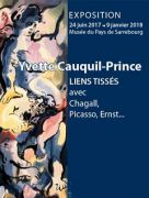 Exposition Yvette Cauquil-Prince à Sarrebourg 57400 Sarrebourg du 09-11-2017 à 10:00 au 09-01-2018 à 18:00