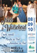 Crèche Vivante Marché de Noël à Walscheid 57870 Walscheid du 08-12-2017 à 17:30 au 10-12-2017 à 17:00