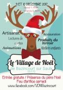 Village de Noël à Bazincourt sur Saulx  55170 Bazincourt-sur-Saulx du 09-12-2017 à 14:00 au 10-12-2017 à 17:00