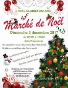 Marché de Noël à Etival-Clairefontaine 88480 Étival-Clairefontaine du 03-12-2017 à 10:00 au 03-12-2017 à 18:00