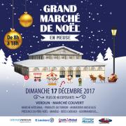 Grand Marché de Noël à Verdun 55100 Verdun du 17-12-2017 à 08:00 au 17-12-2017 à 18:00