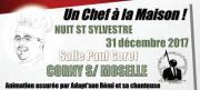 Réveillon Nouvel An à Corny-sur-Moselle 57680 Corny-sur-Moselle du 31-12-2017 à 19:30 au 01-01-2018 à 06:00