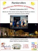 Marche aux Flambeaux et Lanternes à Rambervillers 88700 Rambervillers du 09-12-2017 à 18:00 au 09-12-2017 à 20:00