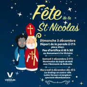 Défilé de Saint-Nicolas à Verdun 55100 Verdun du 02-12-2017 à 17:00 au 06-12-2017 à 16:00