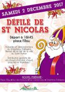 Défilé Saint-Nicolas à Amnéville 57360 Amnéville du 02-12-2017 à 16:45 au 02-12-2017 à 19:00