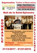 Réveillon Nouvel An à Dombasle 54110 Dombasle-sur-Meurthe du 31-12-2017 à 20:30 au 01-01-2018 à 03:00