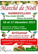 Marché de Noël à Rambervillers 88700 Rambervillers du 16-12-2017 à 14:00 au 17-12-2017 à 18:00