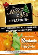 Marché de Noël à Gérardmer 88400 Gérardmer du 01-12-2017 à 12:00 au 07-01-2018 à 17:30