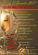 Soirée Nouvel An à Senones au Clos Malpré 88210 Senones du 31-12-2017 à 20:30 au 01-01-2018 à 02:00
