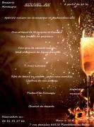 Réveillon Nouvel An Plombières Brasserie Montaigne 88370 Plombières-les-Bains du 31-12-2017 à 20:00 au 01-01-2018 à 04:00