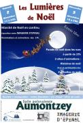 Marché de Noël Aumontzey Les Lumières de Noël 88640 Aumontzey du 02-12-2017 à 17:00 au 03-12-2017 à 22:00
