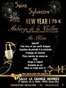 Réveillon Nouvel An Colline de Sion Repas Dansant 54330 Saxon-Sion du 31-12-2017 à 18:00 au 01-01-2018 à 01:00