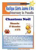 Concert de Noël à Domremy-la-Pucelle  88630 Domrémy-la-Pucelle du 17-12-2017 à 15:00 au 17-12-2017 à 16:30