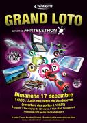 Loto Vandoeuvre au Profit du Téléthon 54500 Vandoeuvre-lès-Nancy du 17-12-2017 à 13:30 au 17-12-2017 à 18:00