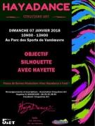 Stage Objectif Silhouette à Vandoeuvre 54500 Vandoeuvre-lès-Nancy du 07-01-2018 à 10:00 au 07-01-2018 à 13:00