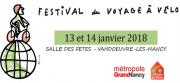 Festival du Voyage à Vélo à Vandoeuvre-lès-Nancy 54500 Vandoeuvre-lès-Nancy du 13-01-2018 à 09:30 au 14-01-2018 à 18:00