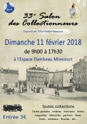Salon des Collectionneurs à Mirecourt 88500 Mirecourt du 11-02-2018 à 09:00 au 11-02-2018 à 17:30